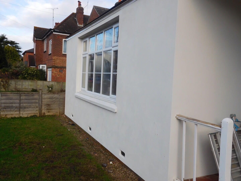 External render by J B Plastering and Drylining in Cheltenham, Gloucester