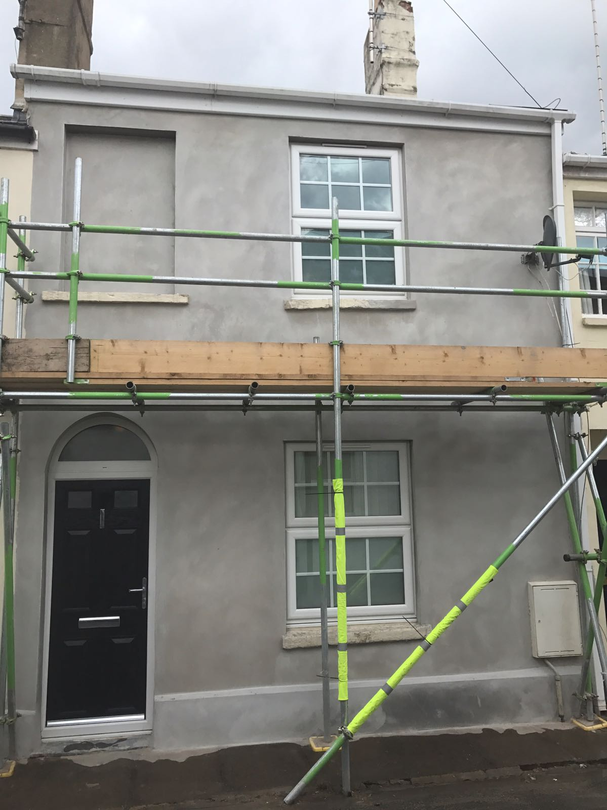External render by J B Plastering and Drylining in Cheltenham, Gloucester