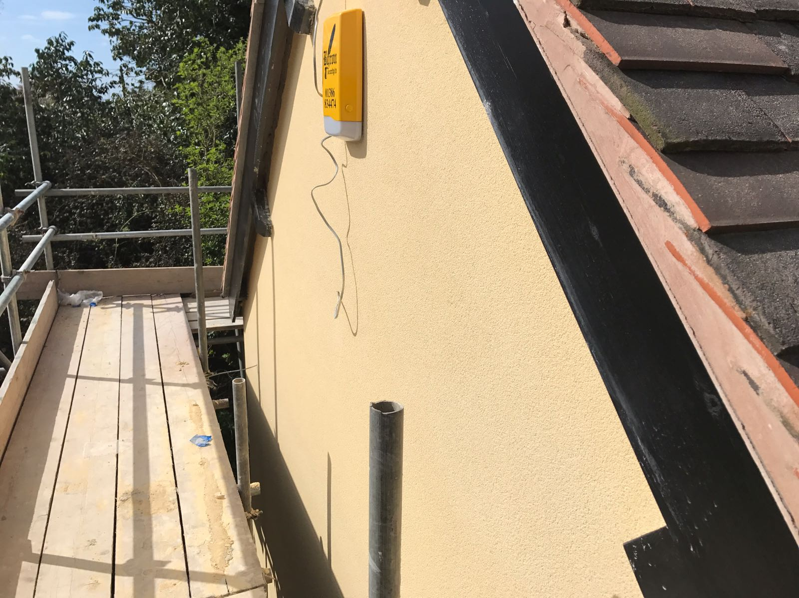 External rendering in Worcester | J B Plastering and Drylining
