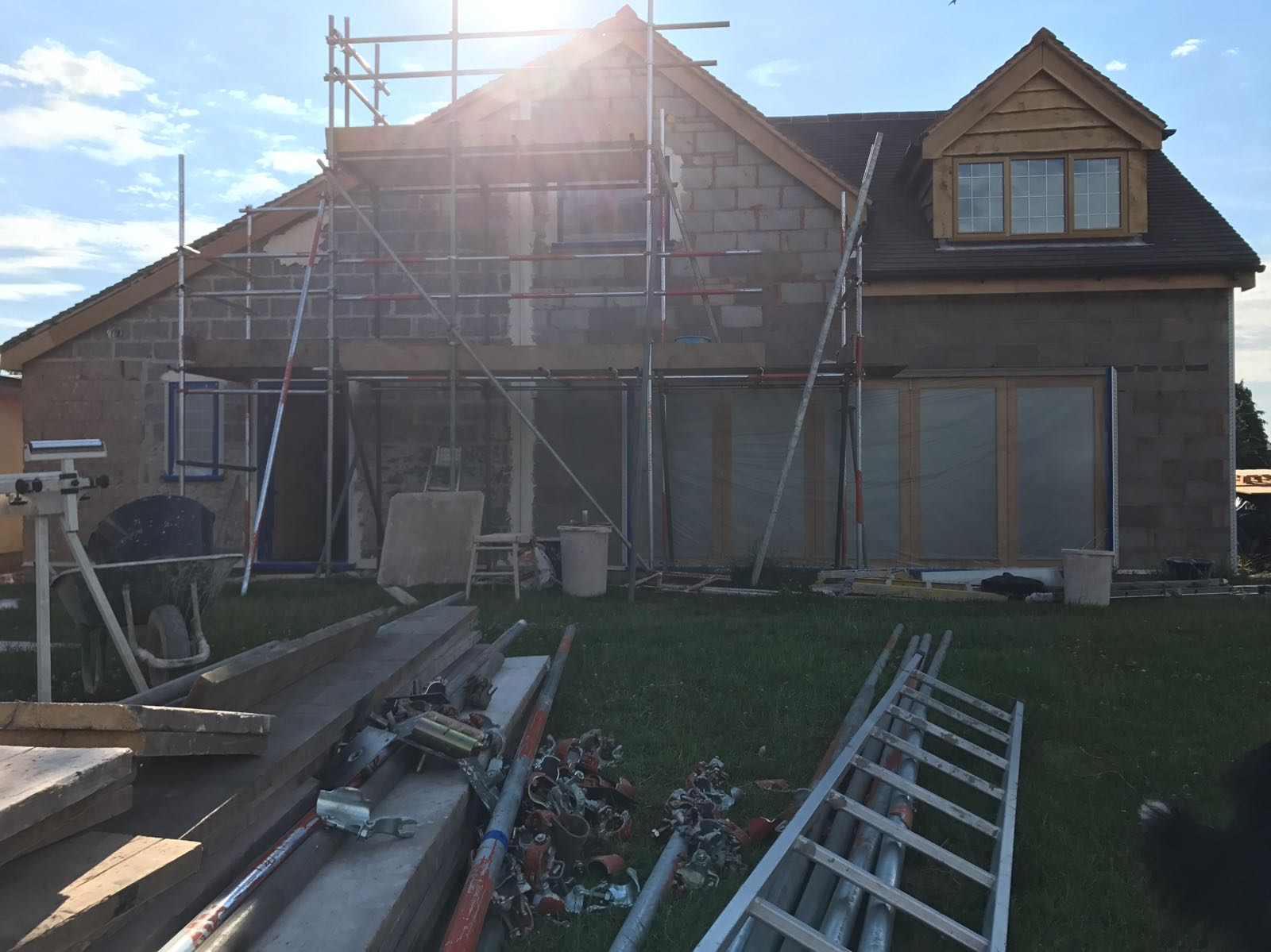 External prime and render in Cheltenham | J B Plastering and Drylining