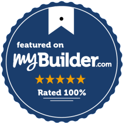 MyBuilder feedback badge