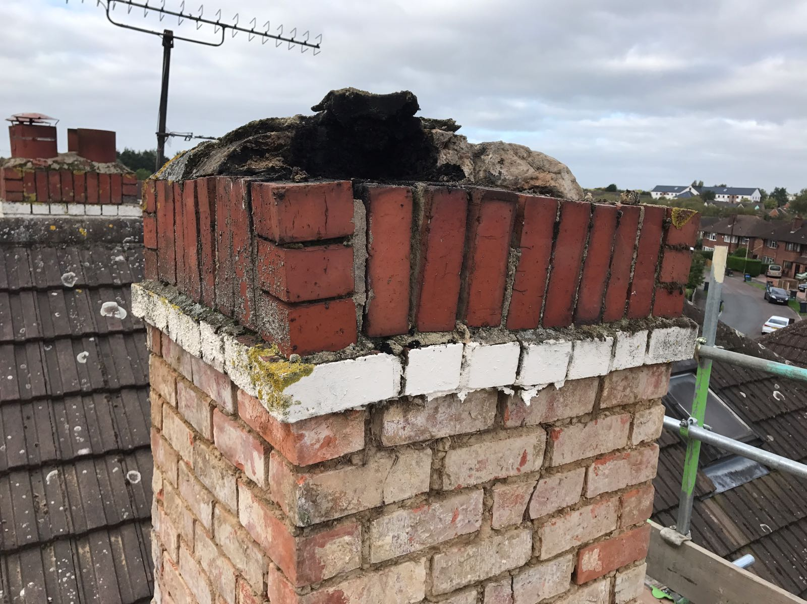 Chimney stack renovation